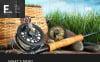 Responsivt WordPress-tema för fiske New Screenshots BIG