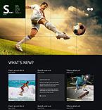 Sport WordPress Template 47020