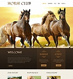Animals & Pets Moto CMS HTML  Template 47029