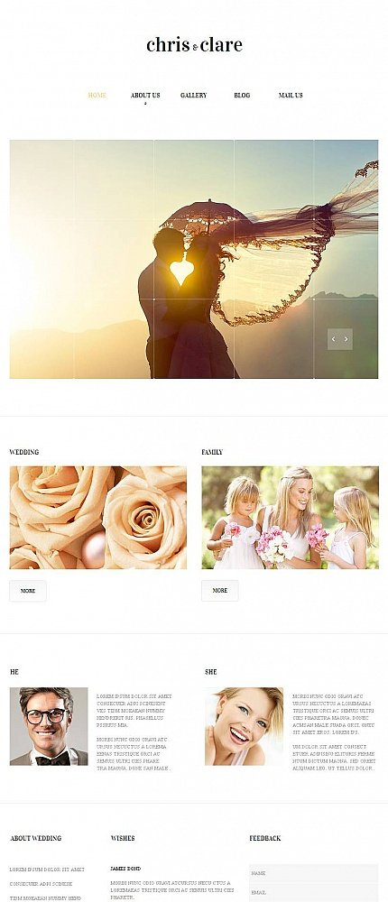 ADOBE Photoshop Template 47058 Home Page Screenshot