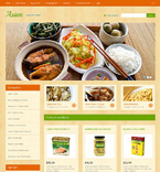 Food & Drink OpenCart  Template 47066