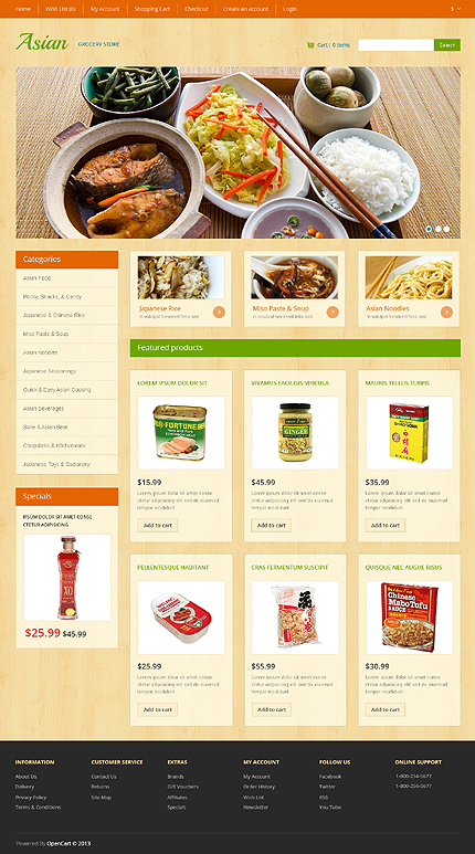 ADOBE Photoshop Template 47066 Home Page Screenshot
