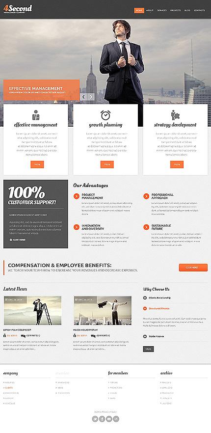 Drupal Template 47067 Main Page Screenshot