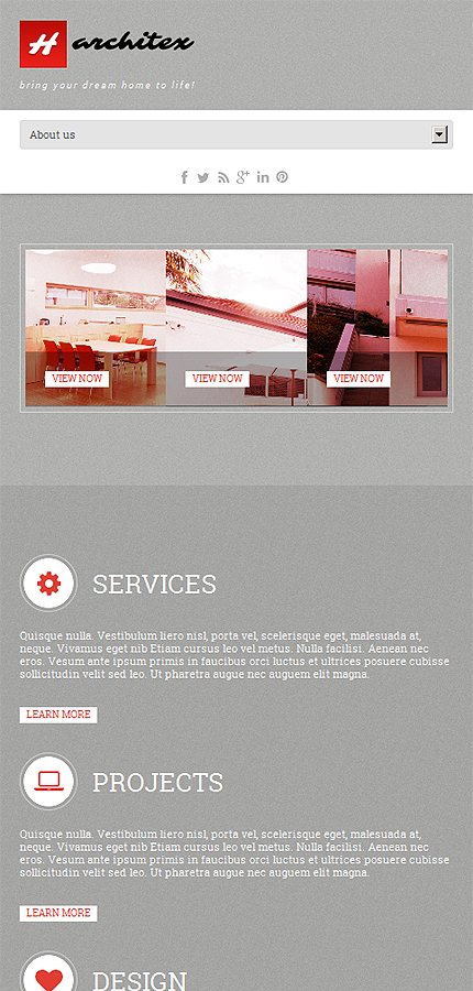 WordPress Theme/Template 47073 Main Page Screenshot