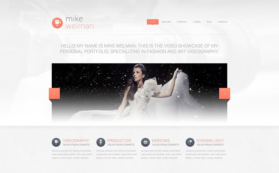 Thème Drupal  pour portfolio de photographe New Screenshots BIG