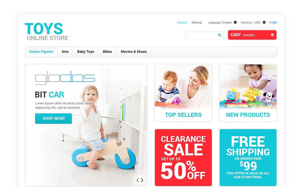 Responsive PrestaShop Thema over Speelgoedwinkel  New Screenshots BIG