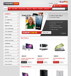 Computers osCommerce  Template 47090