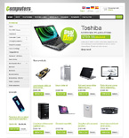 Computers osCommerce  Template 47091