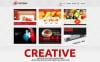 """Advertising Company"" Responsive WordPress thema New Screenshots BIG"