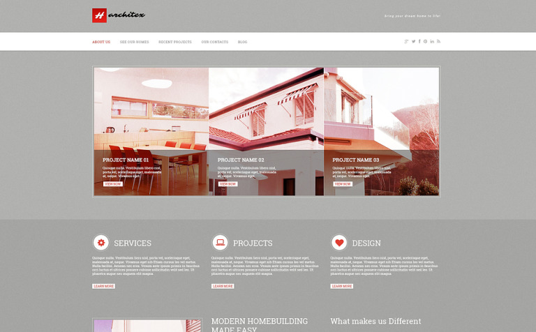 Construction Company Responsive Wordpress Theme 47073