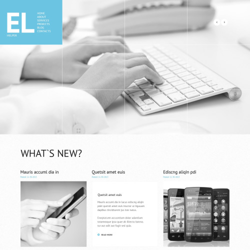 El - WordPress Template based on Bootstrap