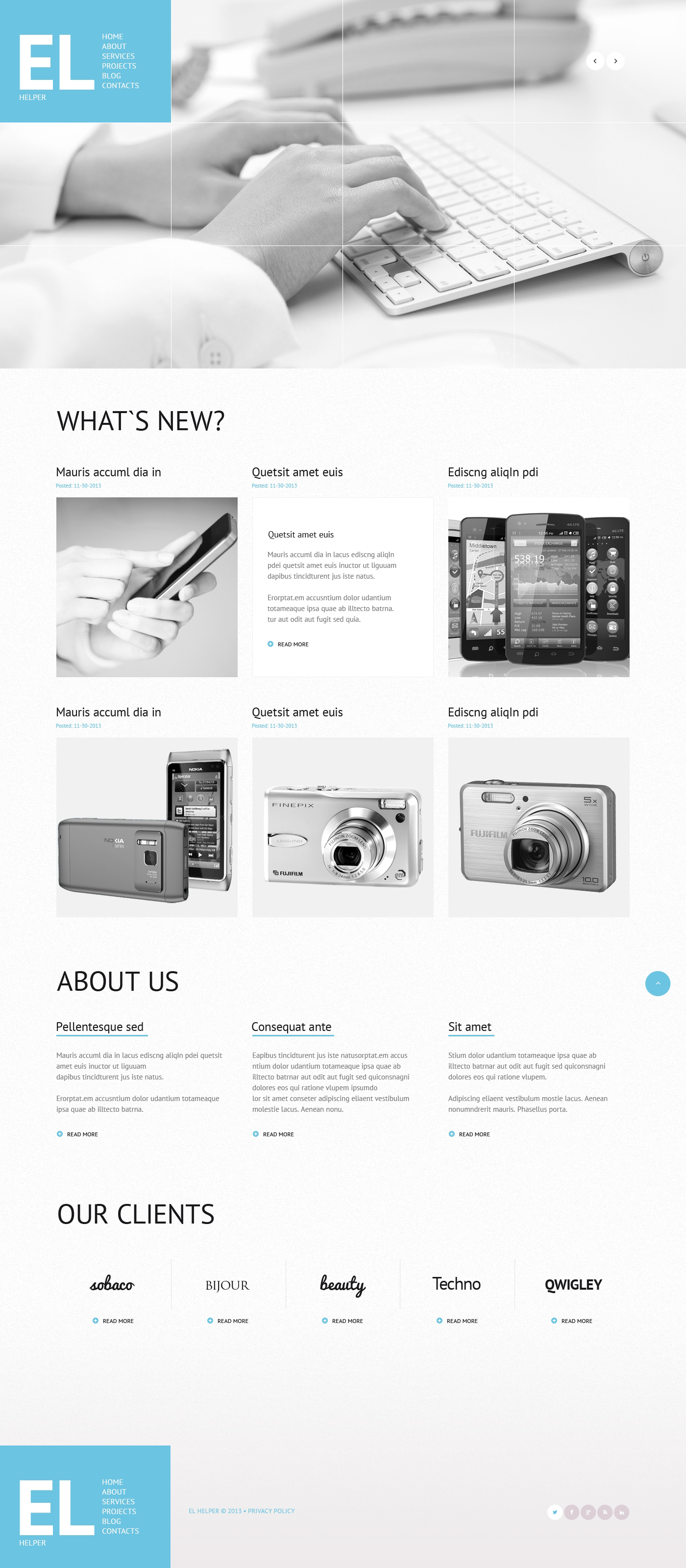 Mobile Store Responsive WordPress Theme