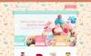OpenCart шаблон на тему магазин солодощів New Screenshots BIG