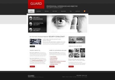 Plantilla Moto CMS HTML #47037 para Sitio de  para Sitio de Seguridad de información