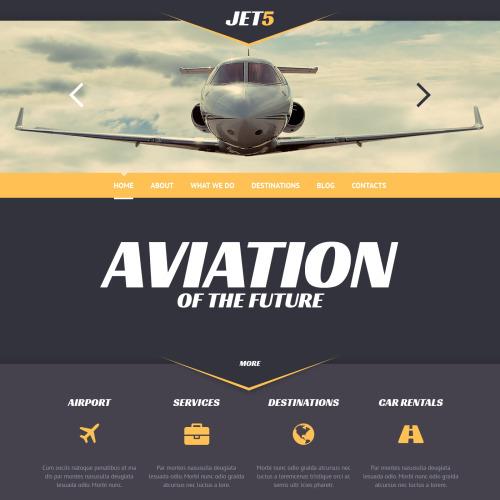 Jet 5 - WordPress Template based on Bootstrap