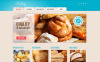 Responsive WordPress thema over Bakkerij  New Screenshots BIG