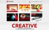 Reszponzív Reklámügynökségi  WordPress sablon New Screenshots BIG