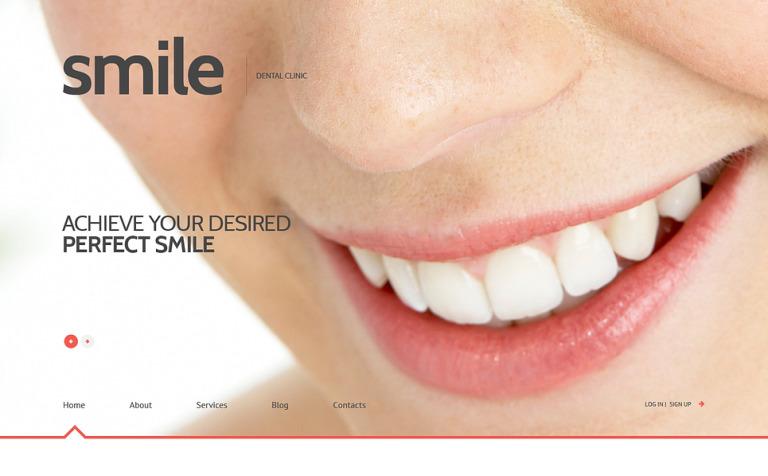 Tema de WordPress #47011 para Sitio de Odontología