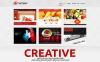 Tema WordPress Responsive #47007 per Un Sito di Agenzia Pubblicitaria New Screenshots BIG