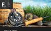 Tema WordPress Responsive #47019 per Un Sito di Pesca New Screenshots BIG