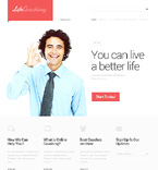 Society and Culture Website  Template 47101