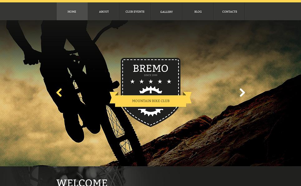 Responsywny szablon strony www #47104 na temat: BMX New Screenshots BIG
