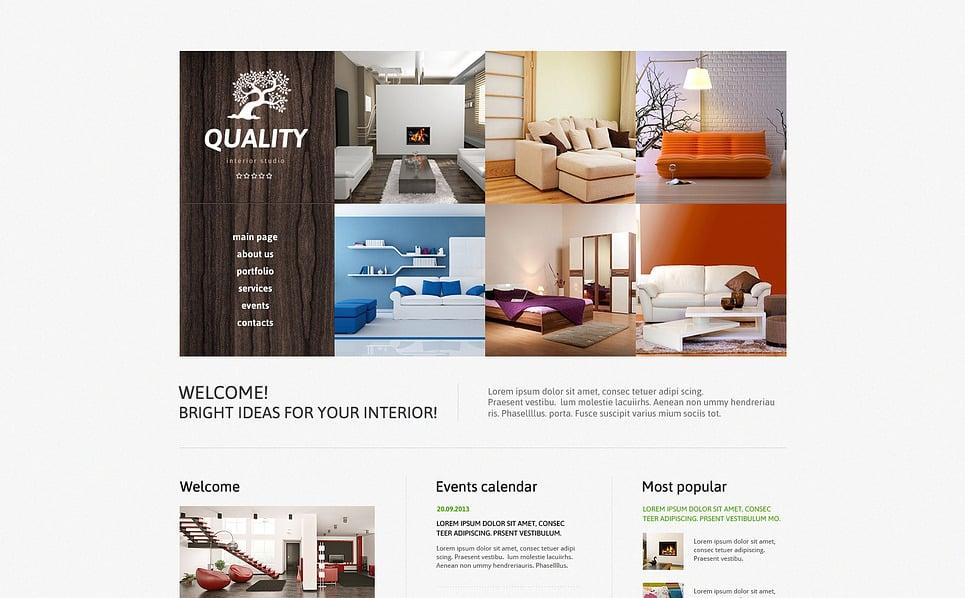 Responzivní Joomla šablona na téma Design interiéru New Screenshots BIG