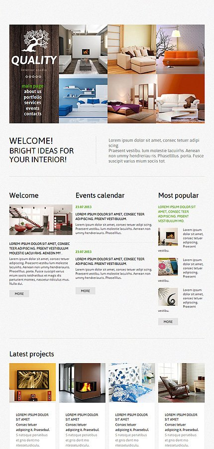Joomla Theme/Template 47110 Main Page Screenshot