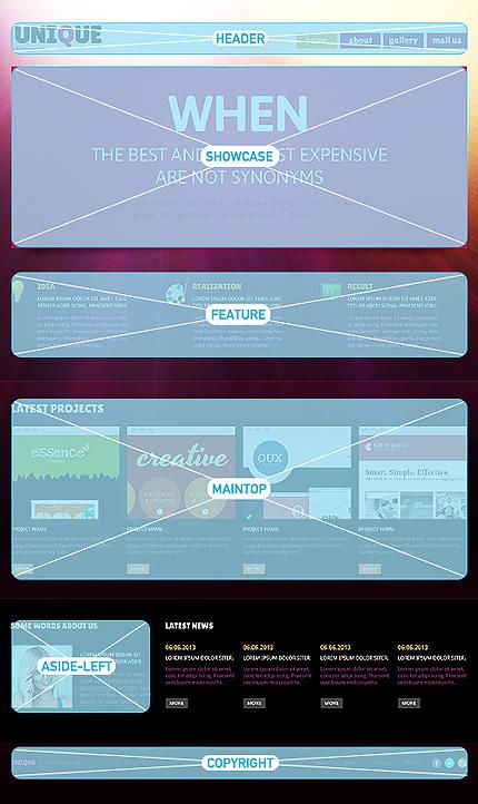 Joomla Theme/Template 47112 Main Page Screenshot
