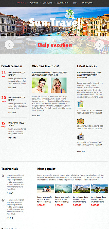 Joomla Theme/Template 47113 Main Page Screenshot