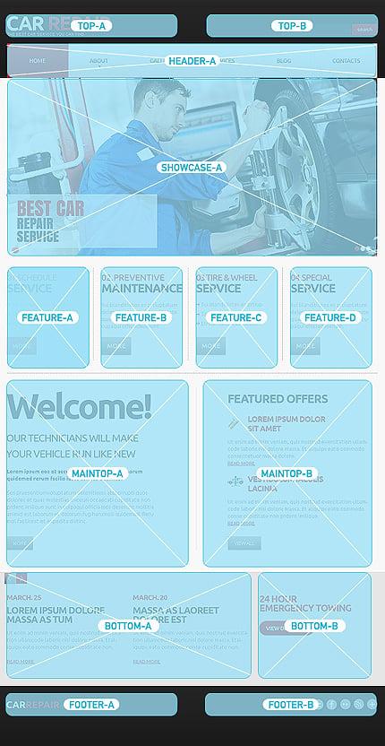Joomla Theme/Template 47115 Main Page Screenshot