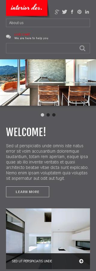 Joomla Theme/Template 47120 Main Page Screenshot