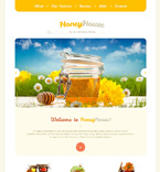 Food & Drink Website  Template 47124