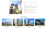 Quality Group - Construction Company Clean Multipage HTML5 Website Template