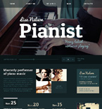 Personal Page Website  Template 47126