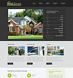 Real Estate Flash CMS  Template 47135