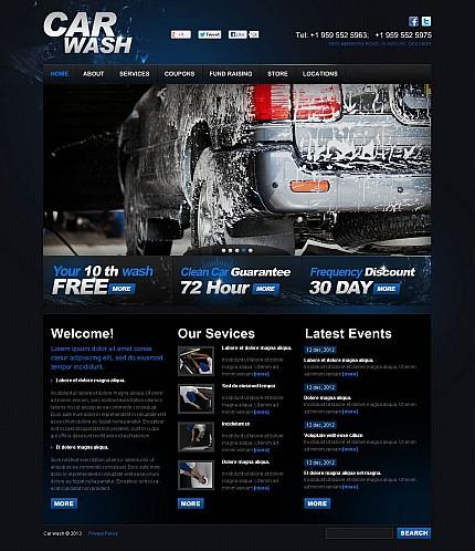 ADOBE Photoshop Template 47136 Home Page Screenshot