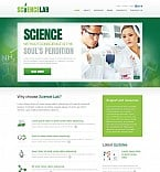 Science Flash CMS  Template 47139