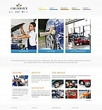 Cars Flash CMS  Template 47144