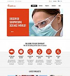 Science Flash CMS  Template 47147