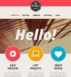 Architecture Website  Template 47150
