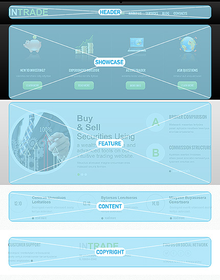 Joomla Theme/Template 47153 Main Page Screenshot