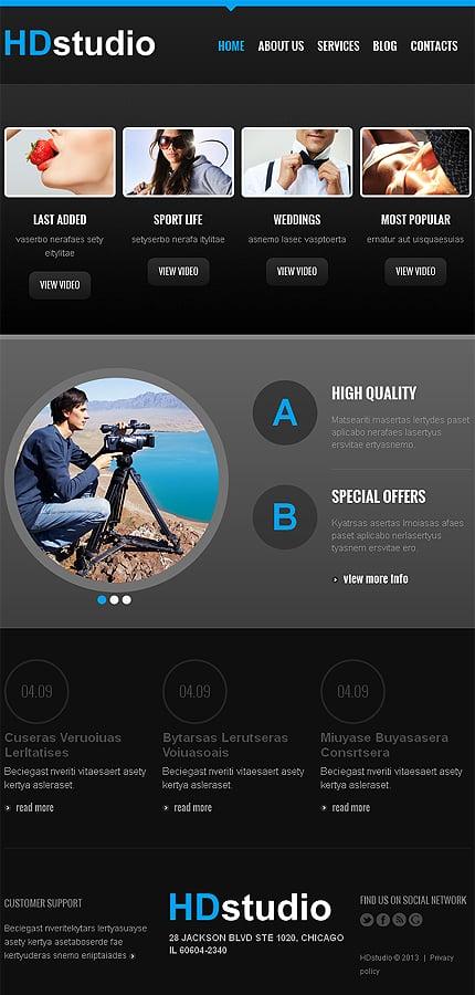 Joomla Theme/Template 47154 Main Page Screenshot