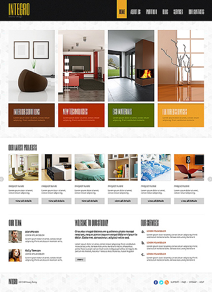 Joomla Theme/Template 47157 Main Page Screenshot
