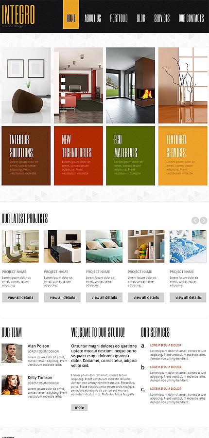 Joomla Theme/Template 47157 Main Page Screenshot
