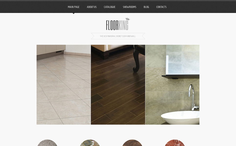 Responzivní Joomla šablona na téma Podlahové krytiny New Screenshots BIG