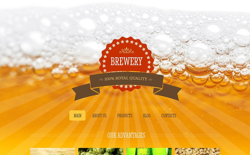 Responsive Joomla Template over Brouwerij  New Screenshots BIG