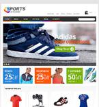Sport Jigoshop Template 47163