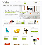 Furniture VirtueMart  Template 47165