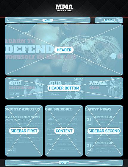 Drupal Template 47168 Main Page Screenshot